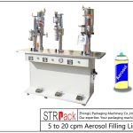 Poolautomaatne aerosoolide täitmise masin