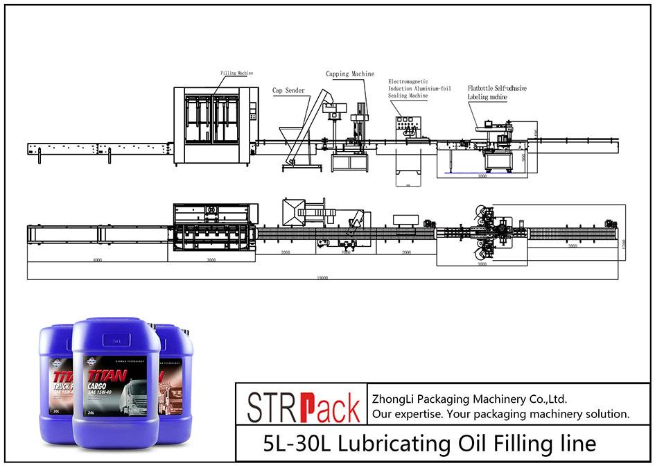 Automaatne 5L-30L määrdeõli täitetoru