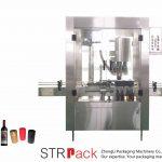 Automaatne 4-pealise alumiiniumist korgiga pressimismasin