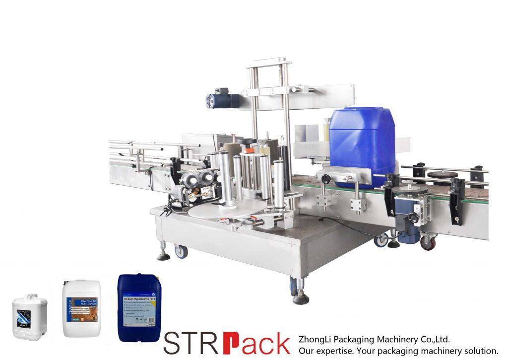 Automaatne kahepoolne märgistusmasin 5-25L trumli jaoks