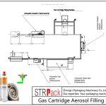 Automaatne gaasikassettide aerosooli täitmisliin