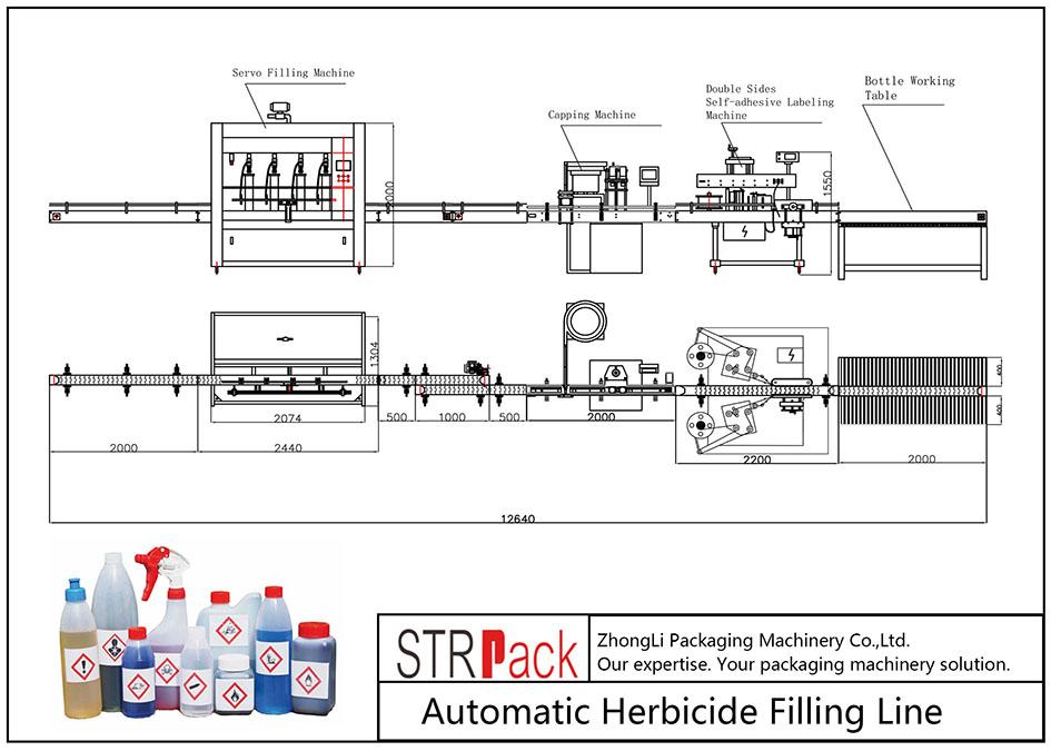 Herbitsiidi automaatne täitmisliin