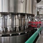 Automaatne mesi purkide täitmise masin, vaakumkorkide sidumise ja märgistamise joon