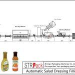 Automaatne salatikastme täitmise joon