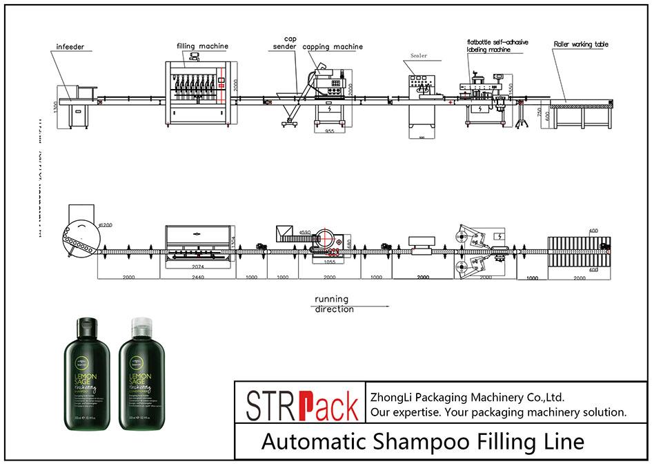 Automaatne šampooni täitmisliin