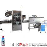 Automaatne kokkutõmbuvate varrukatega märgistusmasin