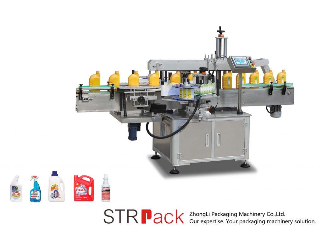Automaatne ühe- või kahepoolne isekleepuv märgistusmasin