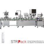 Automaatne veemulsiooni täitmise ja korkimise masin