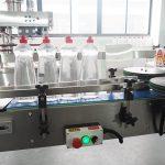 Puhastamine vedeliku täitmise masin pudel Cartonning Line