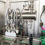 Plahvatuskindel liimi vedelate pudelite täitmise masin korkimismasina märgistamise masin