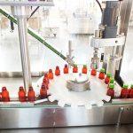 Automaatne vedelate vitamiinide täitmise masina korkimismasina pakkimisliin