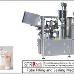 Plasttorude täitmise ja tihendamise masin SFS-100