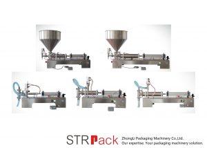 Poolautomaatne kolbvedeliku täitmise masin