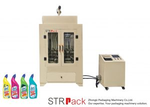 WC-puhastusvahendi vedeliku täitmise masin