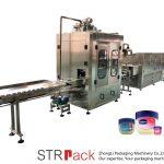 Vaseliini vedeliku täitmise masin Automaatne vaseliini täitmise ja jahutamise liin